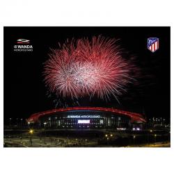 Carte postale Metropolitano Atlético de Madrid.