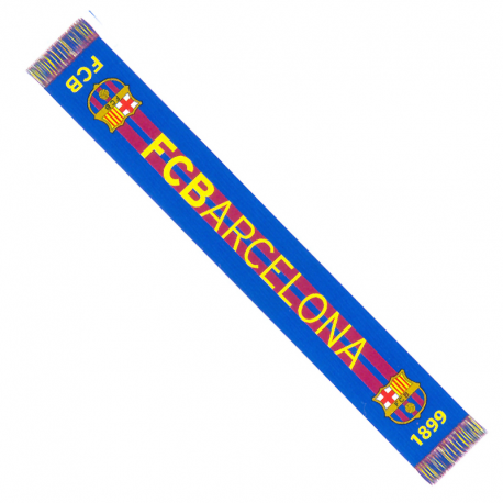 Echarpe F.C. Barcelona.