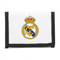 Cartera del Real Madrid.