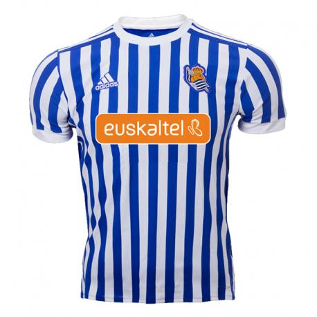 Maillot Real Sociedad Domicile 2017-18.