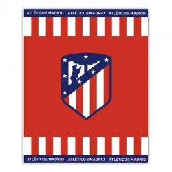 Manta coral del Atlético de Madrid.