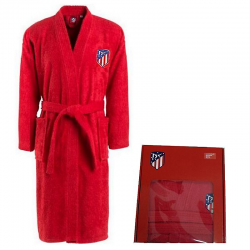 Atlético de Madrid Adult Bathrobe.