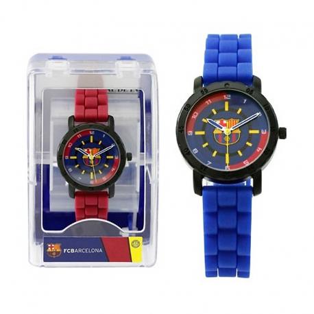 Reloj pulsera cadete/infantil del F.C.Barcelona.