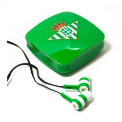 Auriculares de botón del Real Betis.