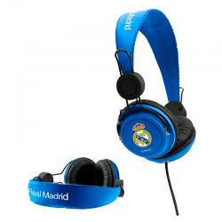Auriculares del Real Madrid.