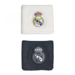 Real Madrid 2 Pack of wristbands 2018-19.
