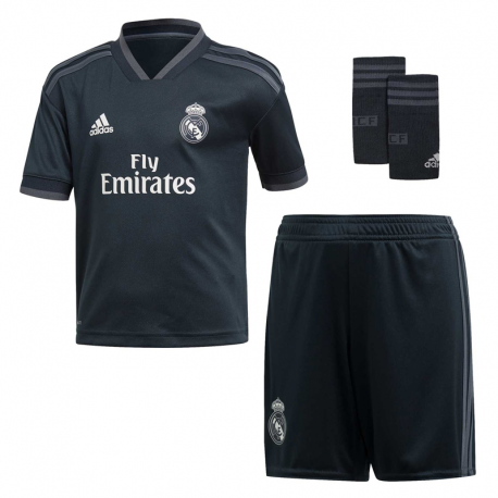 Kit Real Madrid Exterieur 2018-19 junior.