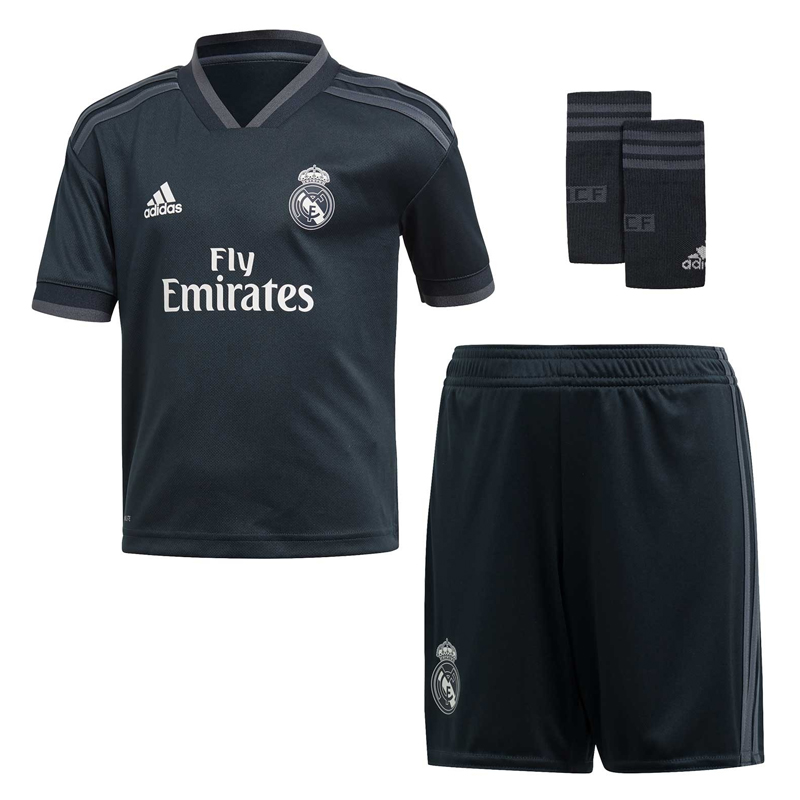 best loved e9b12 47e85 Real madrid 2018 19 kit Away update zip download