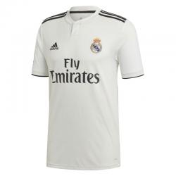 Camiseta oficial niño 1ª equipación Real Madrid 2018-19.