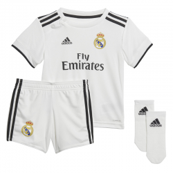 Conjunto de bebé Real Madrid 2018-19.