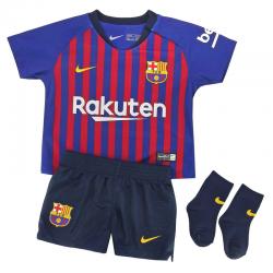 Kit F.C.Barcelona domicile 2018-19 bébé.