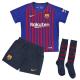 F.C.Barcelona Little Boys Home Kit 2018-19.
