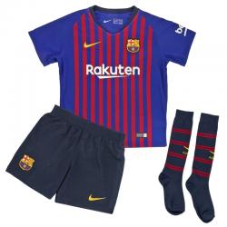 Minikit niños pequeños 1ª equipación F.C. Barcelona 2018-19.