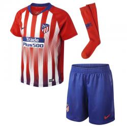 Atlético de Madrid Little Boys Home Kit 2018-19.