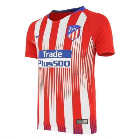 Camiseta Stadium niño 1ª equipación Atlético de Madrid 2018-19.