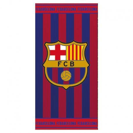 Drap de plage F.C.Barcelona.