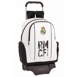Real Madrid Big rucksack with trolley.