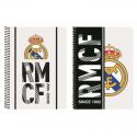 Cuaderno espiral 4º del Real Madrid.