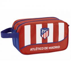 Neceser dos cremalleras del Atlético de Madrid.