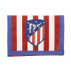 Billetera del Atlético de Madrid.