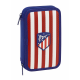 Atlético de Madrid Small Double pencil case.