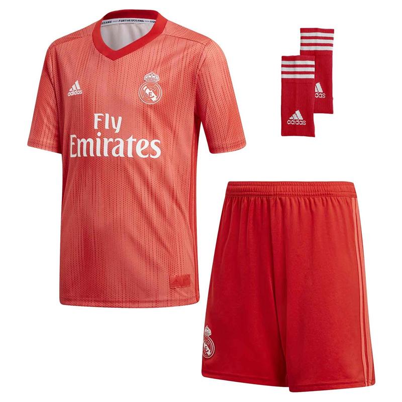 Conjunto niño 3ª equipación Real Madrid 2018-19. bd993b18560c1