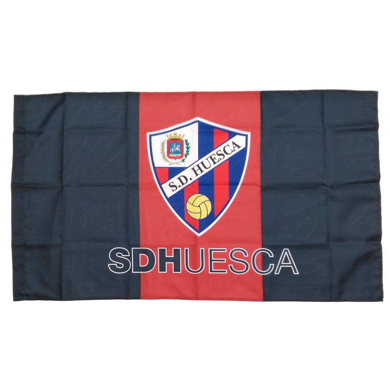 Bandera de la S.D. Huesca. 854bd53284b