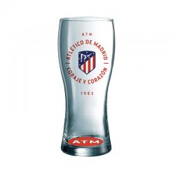 Verre à bière grand Atlético de Madrid.