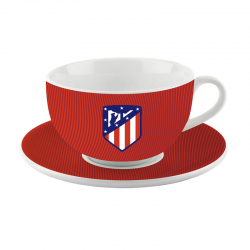 Atlético de Madrid Porcelain Bowl and plate.