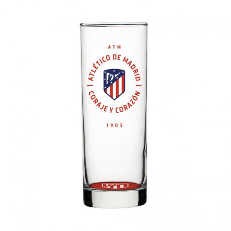 Vaso de tubo del Atlético de Madrid.