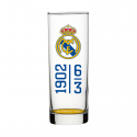 Vaso de tubo del Real Madrid.