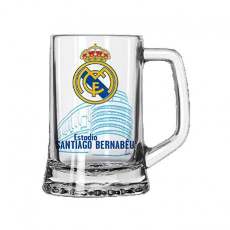 Verre à bière moyenne Real Madrid.