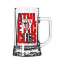 Jarra de cerveza grande del Athletic de Bilbao.