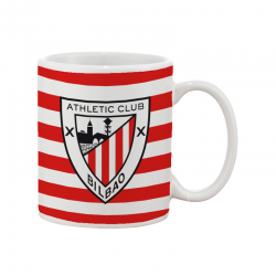 Taza mug porcelana del Athletic de Bilbao.