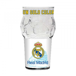 Vaso pelota del Real Madrid.