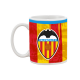 Taza mug porcelana del Valencia C.F.