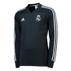Real Madrid Adult Training Sweatshirt 2018-19.