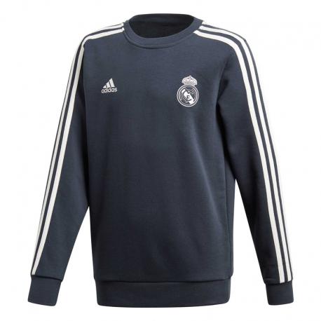 Sudadera de entrenamiento niño Real Madrid 2018-19.