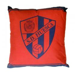 Cojín de tela pequeño de la S.D.Huesca.