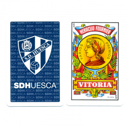 S.D.Huesca deck of cards.