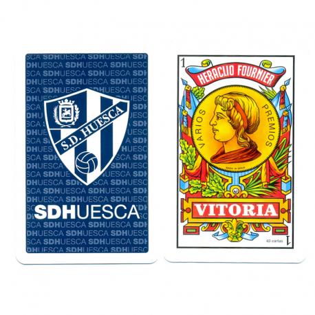 Baraja de cartas S.D.Huesca.