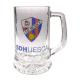 Jarra de cerveza grande de la S.D.Huesca.