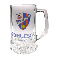 S.D.Huesca Large Beer Mug.