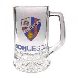 Verre à bière grand S.D.Huesca.