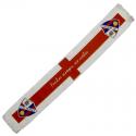 Bufanda telar de la S.D. Huesca.