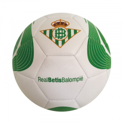 Balón de fútbol del Real Betis.