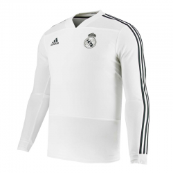 Sweat d'entraînement Real Madrid 2018-19 junior.