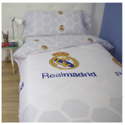 Funda nórdica de 90 cm. del Real Madrid.