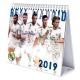 Calendario sobremesa 2019 del Real Madrid.