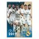Calendario de pared 2019 del Real Madrid.
